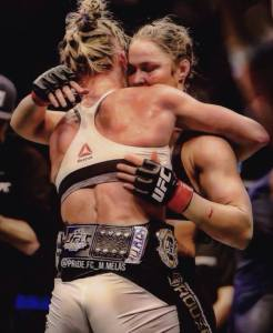 Ronda and Holly