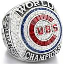 Cubs championship ring